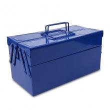 五金工具箱 二层工具收纳箱 铁制工具柜 专业维修电工工具箱