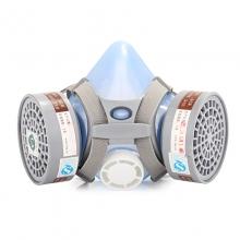 防毒防尘口罩 面罩 面具防护劳保用品硅胶 粉尘 氯气工业等