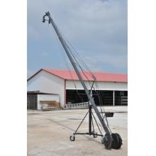 5米手动摇臂/6米8米10米摄像单反电控摇臂轨道车厂家直销