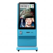 42寸立式微信照片打印机 吸粉神器投币微信广告机