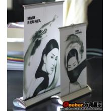 A4铝合金易拉宝海报架桌面展架广告牌迷你展架海报制作水滴形特价
