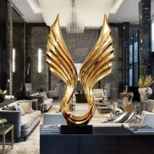欧式客厅玄关装饰雕塑艺术工艺品摆件样板房酒店大堂摆件现代简约
