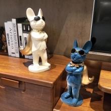 创意艺术品摆件样板房茶几雕塑现代简约店铺风水开业礼品招财摆件