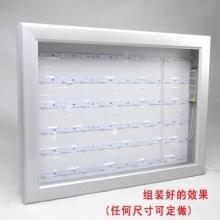 6x8.5拉布灯箱广告牌型材户外灯箱软膜手机店吊牌招牌铝型材定做