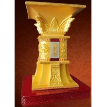 九龙至尊宝鼎 贵金属收藏 商务馈赠送领导首选