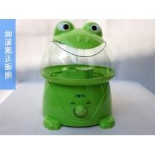 青蛙空气加湿器4L大容量大雾量加湿器断电缺水保护加湿器