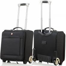正品瑞士军刀拉杆箱18寸女商务小行李登机箱旅行箱包16寸牛津布男