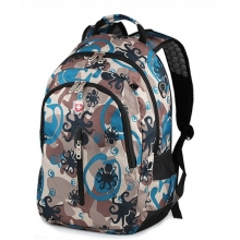 瑞士军刀双肩包商务男士背包高中学生书包休闲旅行包14寸电脑包潮