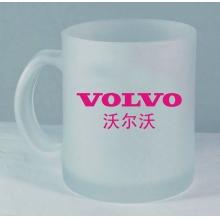 广告杯定做礼品杯茶杯批发促销礼品磨砂玻璃杯定做磨砂杯子印LOGO
