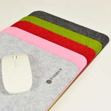 超大鼠标垫 韩国毛毡鼠标垫办公桌垫定制电脑大鼠标垫印LOGO包邮