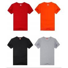 定制纯棉空白文化衫新款男士圆领短袖T恤活动印字广告衫批发